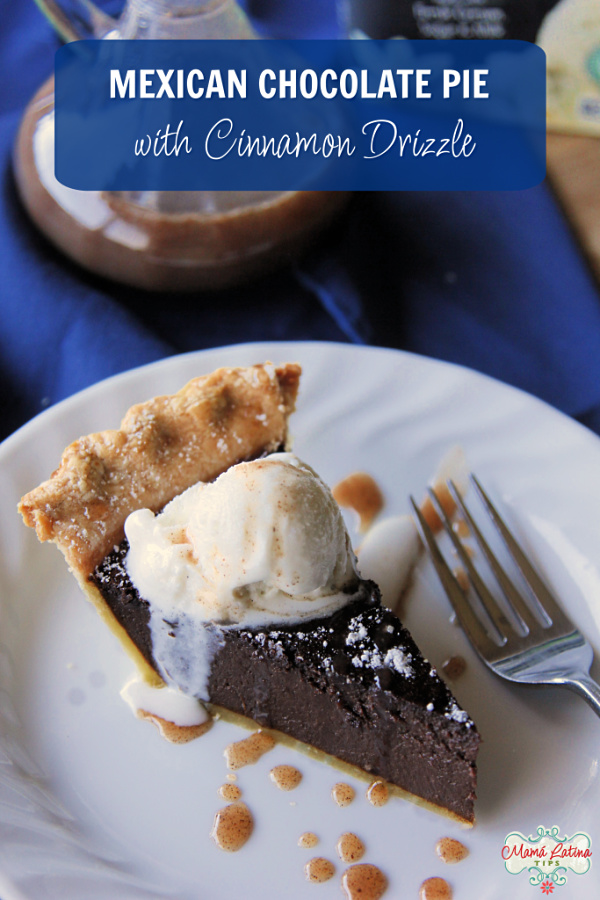 Mexican chocolate pie a la mode