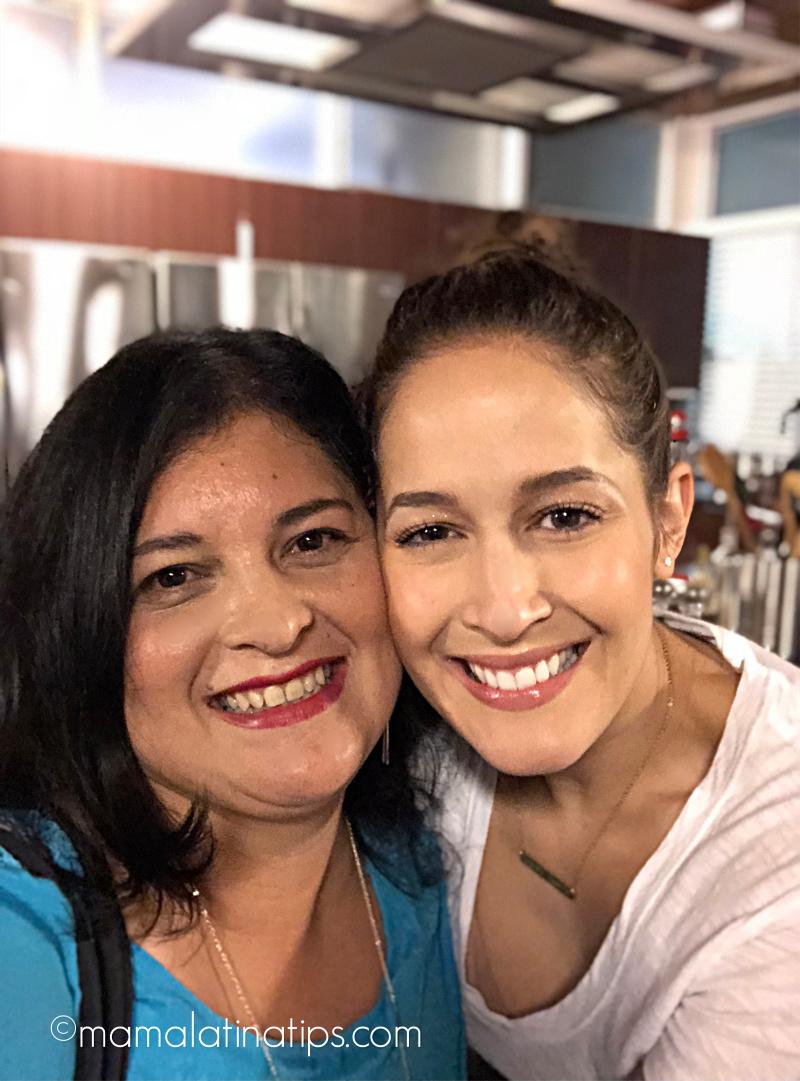 Jaina Lee Ortiz (Station 19) and Silvia Martinez