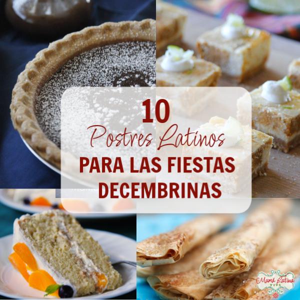 10 postres latinos para las fiestas decembrinas