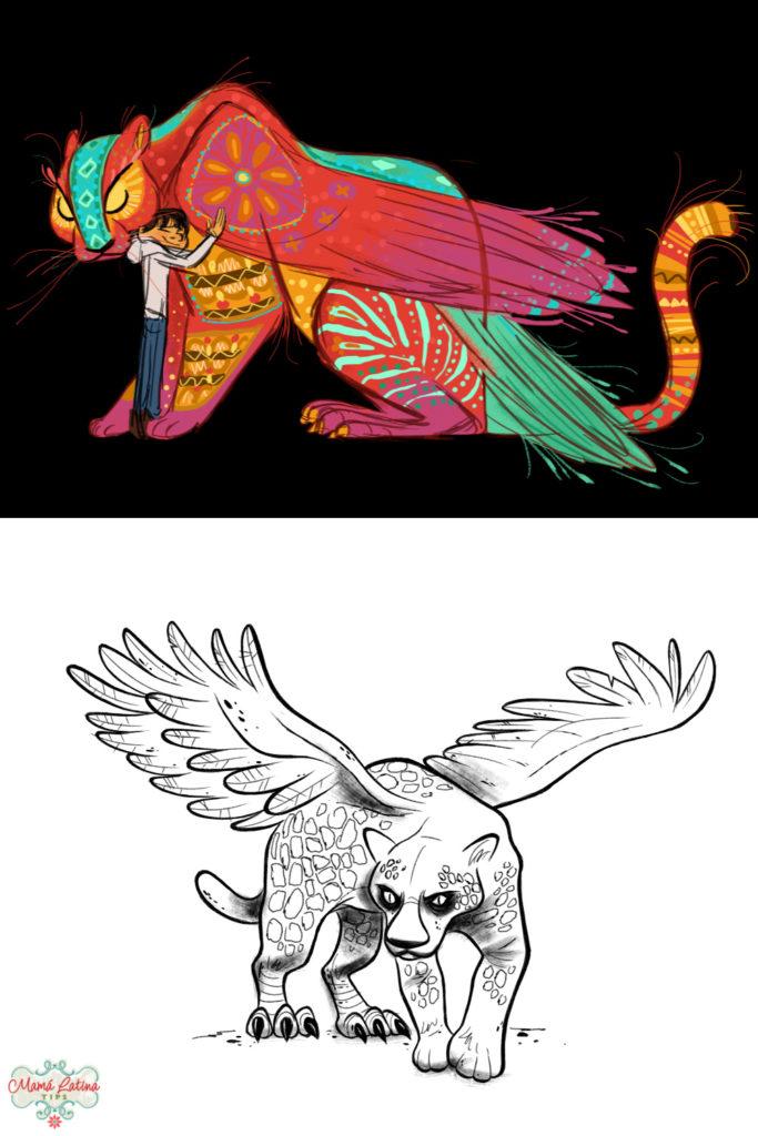 concepto creativo de los alebrijes