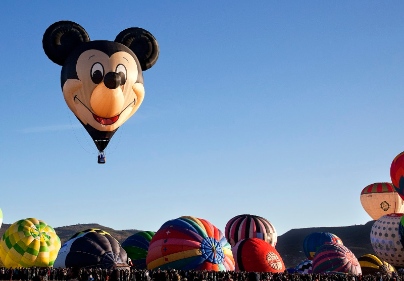 Globo aeroestático de Mickey Mouse