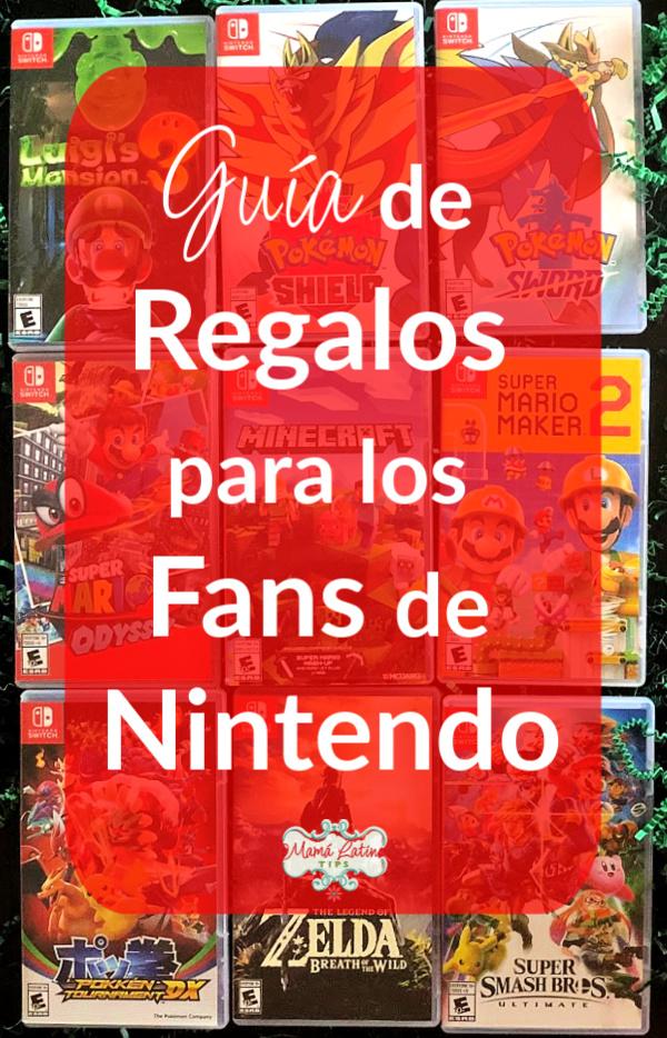 Guía de Regalos para los Fans de Nintendo
